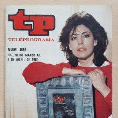 Coleccionismo de Revista Teleprograma: TELEPROGRAMA Nº 886 LOS GOZOS Y LAS SOMBRAS - CHARO LÓPEZ (1983). Lote 199702106