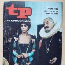 Coleccionismo de Revista Teleprograma: TELEPROGRAMA Nº 888 LAS PÍCARAS - VICTORIA VERA, LUIS ESCOBAR (1983). Lote 199702270