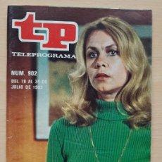 Coleccionismo de Revista Teleprograma: TELEPROGRAMA Nº 902 AMARGA VICTORIA - ELIZABETH MONTGOMERY (1983). Lote 199702358