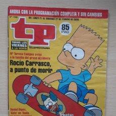 Coleccionismo de Revista Teleprograma: TELEPROGRAMA Nº 1768 LOS SIMPSON (2000). Lote 199702766