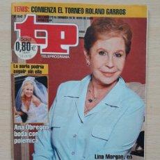 Coleccionismo de Revista Teleprograma: TELEPROGRAMA Nº 2042 AQUÍ NO HAY QUIEN VIVA - LINA MORGAN (2005). Lote 199703025
