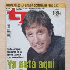 Coleccionismo de Revista Teleprograma: TELEPROGRAMA Nº 2086 LASEXTA - EMILIO ARAGÓN (2006). Lote 199703090