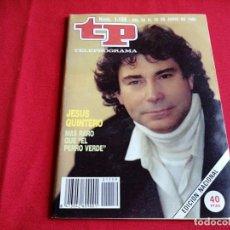 Collectionnisme de Magazine Teleprograma: REVISTA TP NÚM. 1159 AÑO 88. Lote 200011416
