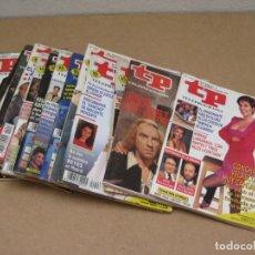 Coleccionismo de Revista Teleprograma: LOTE 15 REVISTAS TELEPROGRAMAS TP.. Lote 202942665