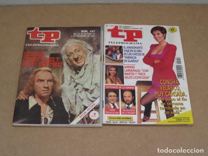 Coleccionismo de Revista Teleprograma: Lote 15 revistas teleprogramas tp. - Foto 2 - 202942665