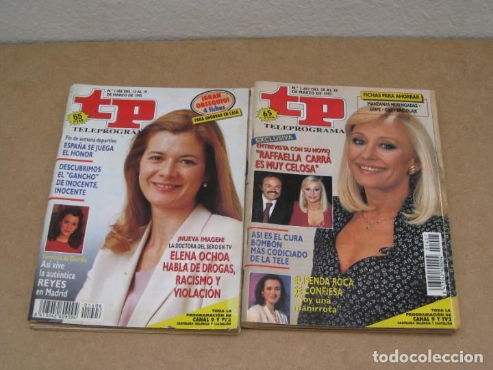 Coleccionismo de Revista Teleprograma: Lote 15 revistas teleprogramas tp. - Foto 3 - 202942665