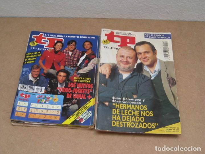 Coleccionismo de Revista Teleprograma: Lote 15 revistas teleprogramas tp. - Foto 4 - 202942665