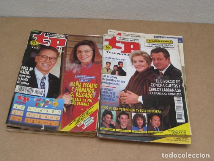 Coleccionismo de Revista Teleprograma: Lote 15 revistas teleprogramas tp. - Foto 5 - 202942665