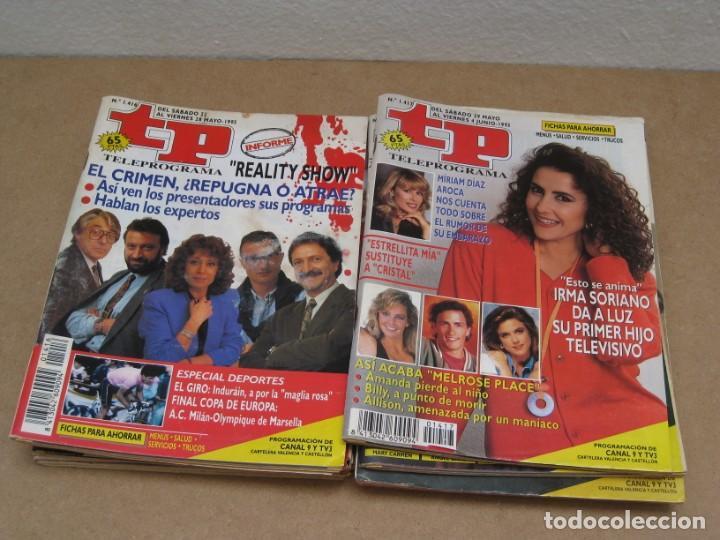 Coleccionismo de Revista Teleprograma: Lote 15 revistas teleprogramas tp. - Foto 6 - 202942665