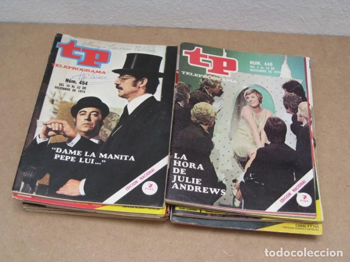 Coleccionismo de Revista Teleprograma: Lote 15 revistas teleprogramas tp. - Foto 7 - 202942665