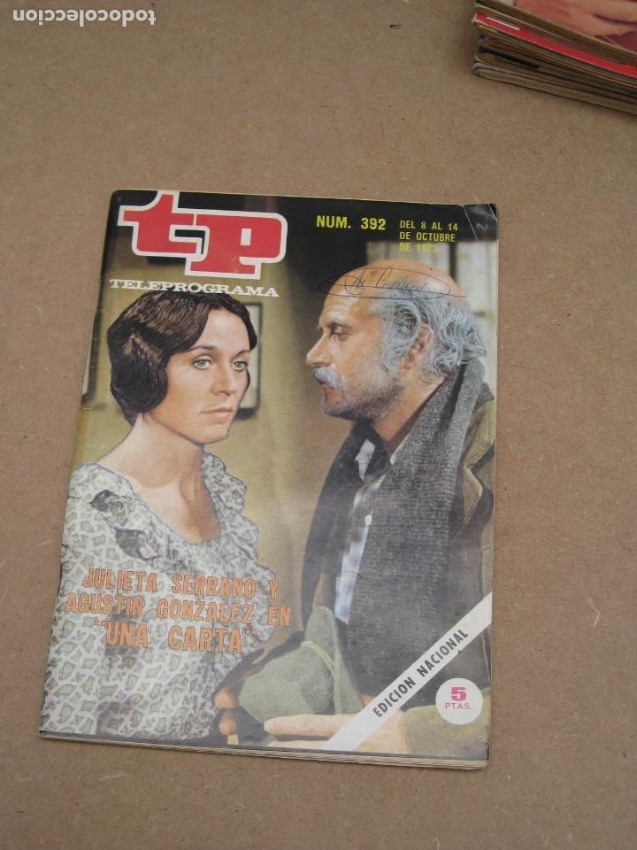 Coleccionismo de Revista Teleprograma: Lote 15 revistas teleprogramas tp. - Foto 9 - 202942665