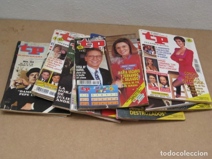 Coleccionismo de Revista Teleprograma: Lote 15 revistas teleprogramas tp. - Foto 13 - 202942665