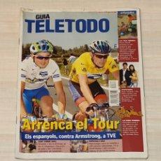 Coleccionismo de Revista Teleprograma: REVISTA TELETODO CICLISMO. EL PERIÓDICO. Lote 203011630