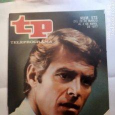 Colecionismo da Revista Teleprograma: REVISTA TP TELEGRAMA NUMERO 573 JAMES FRANCISCUS AÑO 1977. Lote 203079907