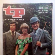 """Colecionismo da Revista Teleprograma: REVISTA TP TELEGRAMA NUMERO 783 AÑO 1981 EL REGRESO DE """"LOS VENGADORES"""". Lote 203081085"""