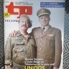 Coleccionismo de Revista Teleprograma: TP TELEPROGRAMA Nº 1466 HISTORIAS DE LA PUTA MILI - 1994. Lote 205061252