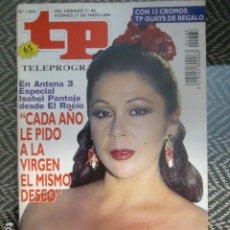 Coleccionismo de Revista Teleprograma: TP TELEPROGRAMA Nº 1468 ISABEL PANTOJA - 1994. Lote 205061378