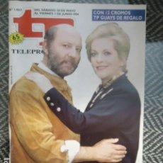 Coleccionismo de Revista Teleprograma: TP TELEPROGRAMA Nº 1469 ALVARO DE LUNA SE DESPIDE DE FARMACIA DE GUARDIA - 1994. Lote 205061451