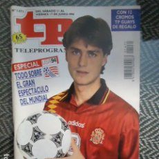 Coleccionismo de Revista Teleprograma: TP TELEPROGRAMA Nº 1471 MUNDIAL USA 94 - 1994. Lote 205061561