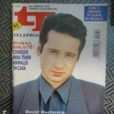 Coleccionismo de Revista Teleprograma: TP TELEPROGRAMA Nº 1472 DAVID DUCHOVNY- EXPEDIENTE X - 1994. Lote 205061616