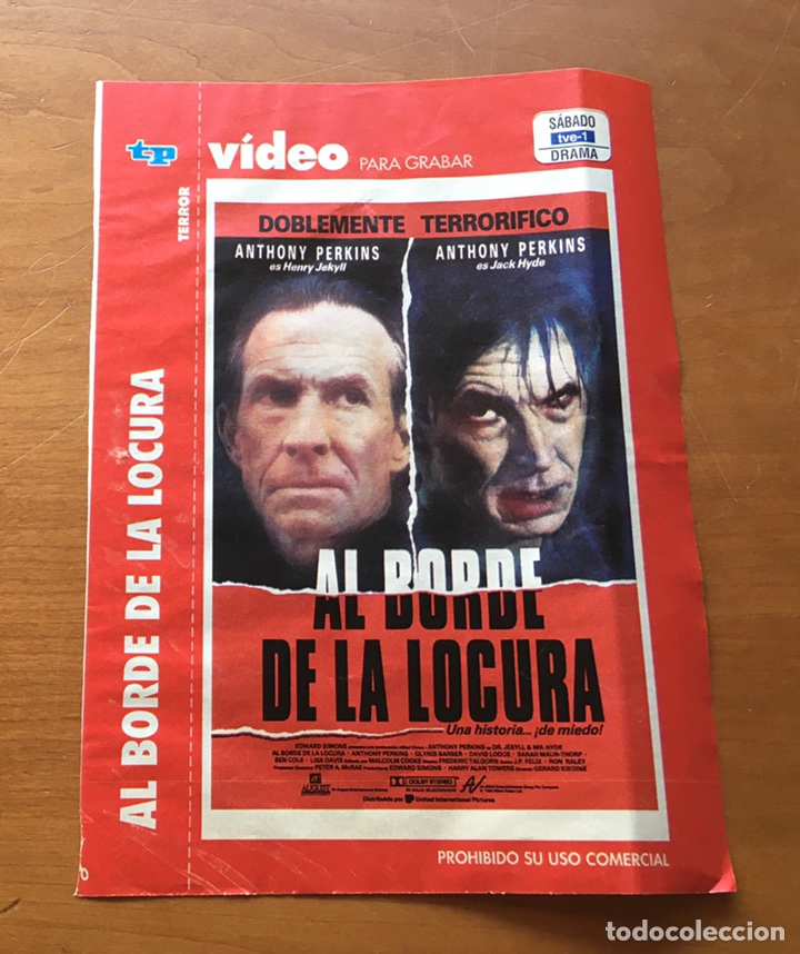 Coleccionismo de Revista Teleprograma: Colección de 17 Carátulas películas VHS revista Teleprograma - Foto 2 - 205145931