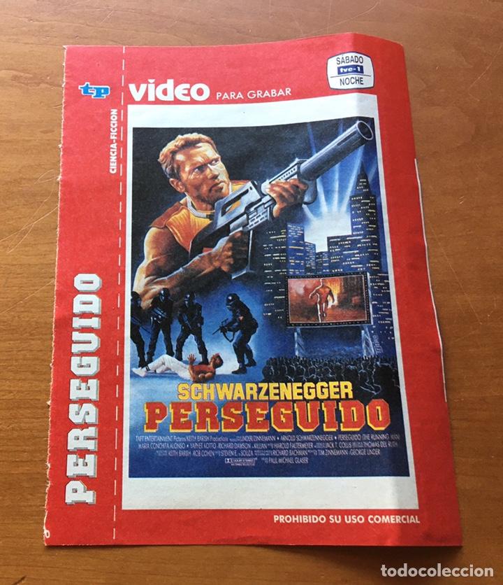 Coleccionismo de Revista Teleprograma: Colección de 17 Carátulas películas VHS revista Teleprograma - Foto 3 - 205145931