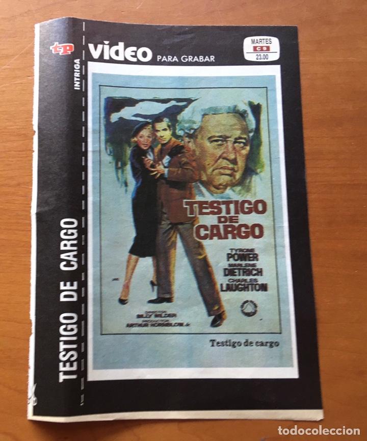 Coleccionismo de Revista Teleprograma: Colección de 17 Carátulas películas VHS revista Teleprograma - Foto 5 - 205145931