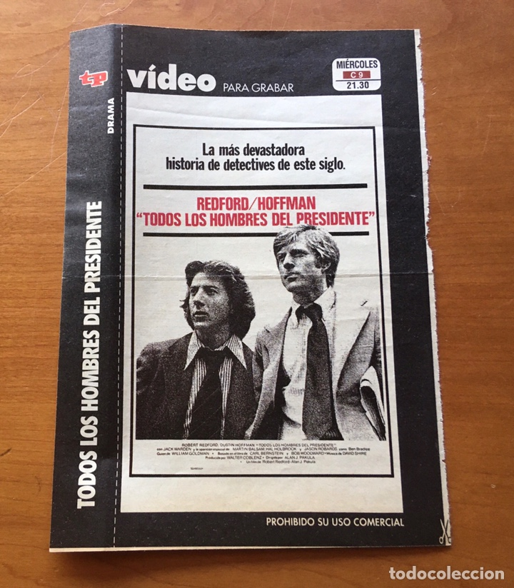 Coleccionismo de Revista Teleprograma: Colección de 17 Carátulas películas VHS revista Teleprograma - Foto 6 - 205145931