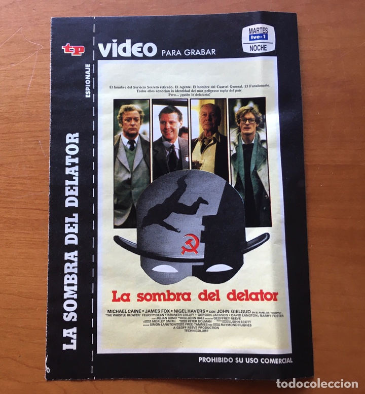 Coleccionismo de Revista Teleprograma: Colección de 17 Carátulas películas VHS revista Teleprograma - Foto 7 - 205145931