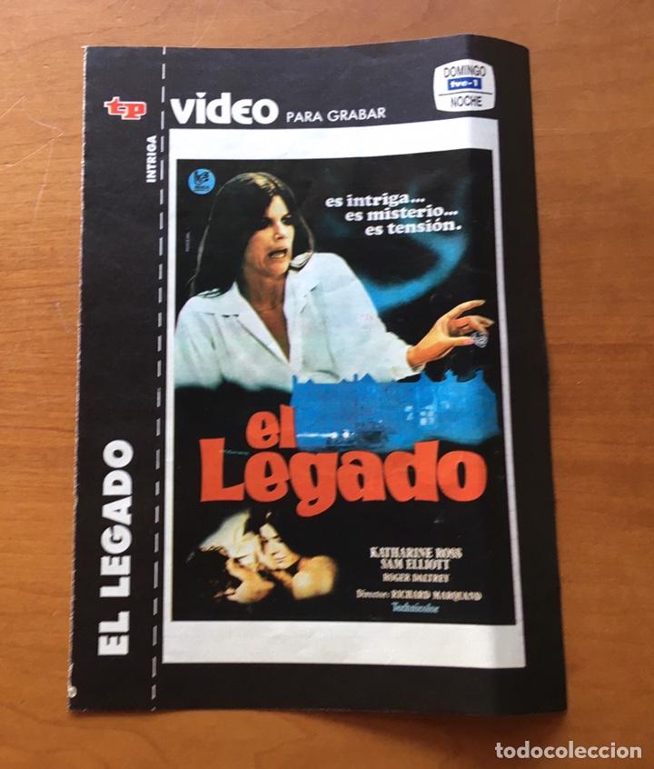 Coleccionismo de Revista Teleprograma: Colección de 17 Carátulas películas VHS revista Teleprograma - Foto 8 - 205145931