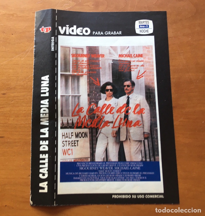 Coleccionismo de Revista Teleprograma: Colección de 17 Carátulas películas VHS revista Teleprograma - Foto 9 - 205145931