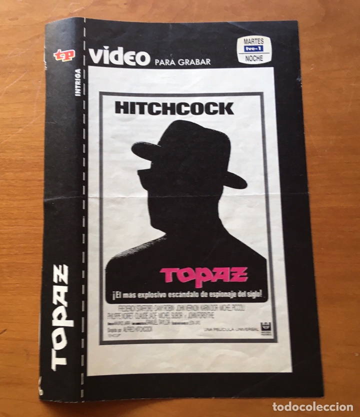 Coleccionismo de Revista Teleprograma: Colección de 17 Carátulas películas VHS revista Teleprograma - Foto 11 - 205145931