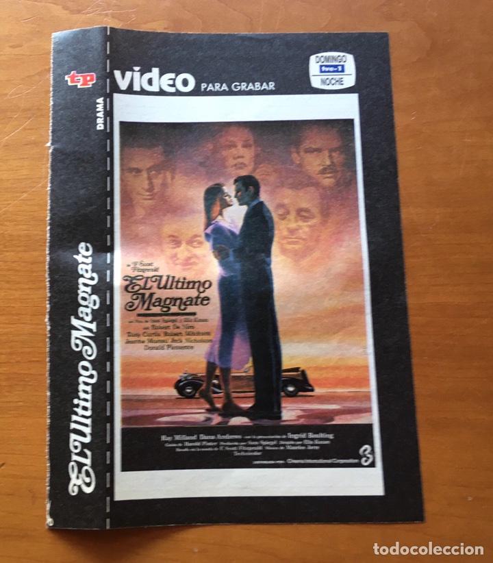 Coleccionismo de Revista Teleprograma: Colección de 17 Carátulas películas VHS revista Teleprograma - Foto 12 - 205145931