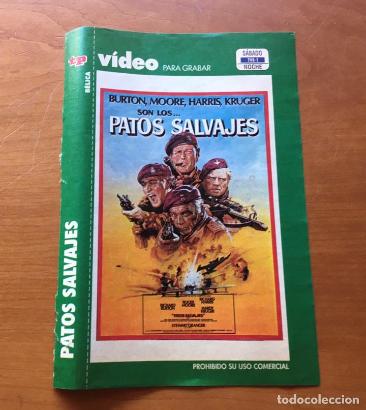 Coleccionismo de Revista Teleprograma: Colección de 17 Carátulas películas VHS revista Teleprograma - Foto 14 - 205145931