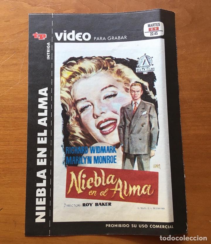 Coleccionismo de Revista Teleprograma: Colección de 17 Carátulas películas VHS revista Teleprograma - Foto 15 - 205145931
