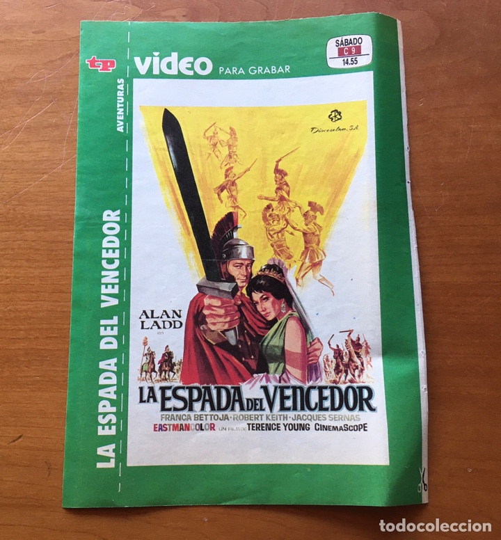 Coleccionismo de Revista Teleprograma: Colección de 17 Carátulas películas VHS revista Teleprograma - Foto 16 - 205145931