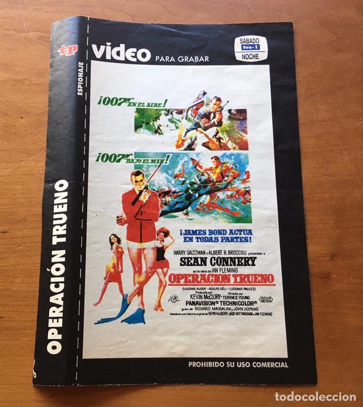 Coleccionismo de Revista Teleprograma: Colección de 17 Carátulas películas VHS revista Teleprograma - Foto 18 - 205145931