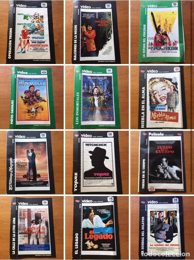 COLECCIÓN DE 17 CARÁTULAS PELÍCULAS VHS REVISTA TELEPROGRAMA (Coleccionismo - Revistas y Periódicos Modernos (a partir de 1.940) - Revista TP ( Teleprograma ))