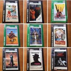 Coleccionismo de Revista Teleprograma: ¡COLECCIÓN DE 17 CARÁTULAS PELÍCULAS VHS REVISTA TELEPROGRAMA. Lote 205145931