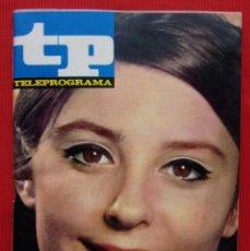 Coleccionismo de Revista Teleprograma: TP. TELEPROGRAMA. MUY DIFÍCIL. NÚMERO: 59. AÑO: 1967. BUEN ESTADO.. Lote 205588381