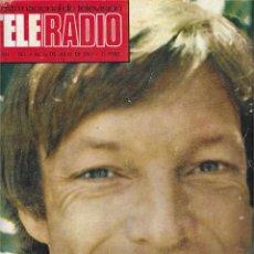 Coleccionismo de Revista Teleprograma: REVISTA TELE RADIO Nº 811, RICARD CHAMBERLAIN, TERESA RABAL, BRUNO LOMAS, TYRONE POWER. Lote 205775827