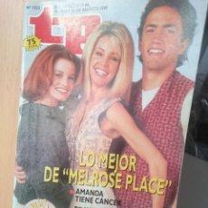 Coleccionismo de Revista Teleprograma: TP TELEPROGRAMA Nº1533 -LO MEJOR DE MELROSE PLACE -DEL 19 AL 23 AGOSTO 1995. Lote 205850543