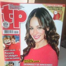 Coleccionismo de Revista Teleprograma: TP TELEPROGRAMA N 2492 - DEL 6 AL 12 ENERO 2014. Lote 205851716