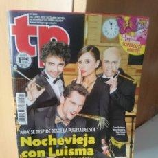 Coleccionismo de Revista Teleprograma: TP TELEPROGRAMA N 2491 - DEL 30 DICIEMBRE 2013 AL 5 ENERO 2014. Lote 205851807