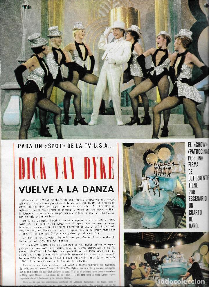 Coleccionismo de Revista Teleprograma: REVISTA TELE RADIO Nº 893, SERGIO Y ESTIBALIZ, JOSE LUIS LOPEZ VAZQUEZ, DICK VAN DYKE - Foto 3 - 205896450