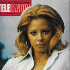 Coleccionismo de Revista Teleprograma: REVISTA TELE RADIO Nº 890, MARIA LUISA SAN JOSE, GUERRA Y PAZ, ROBERT MITCHUM. Lote 206322857