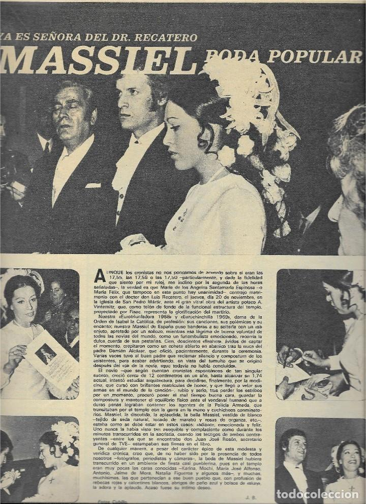 Coleccionismo de Revista Teleprograma: REVISTA TELE RADIO Nº 623,DICIEMBRE 1969, MANNIX, MASSIEL, MIGUEL DE LA CUADRA SALCEDO, JOSE ITURBI - Foto 3 - 233376015