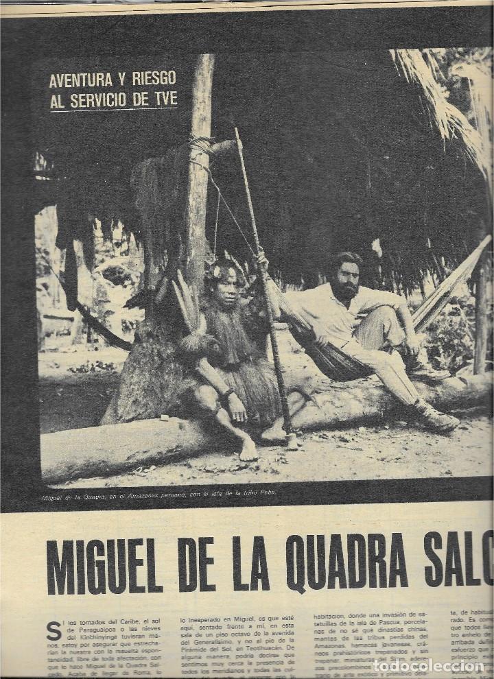 Coleccionismo de Revista Teleprograma: REVISTA TELE RADIO Nº 623,DICIEMBRE 1969, MANNIX, MASSIEL, MIGUEL DE LA CUADRA SALCEDO, JOSE ITURBI - Foto 4 - 233376015