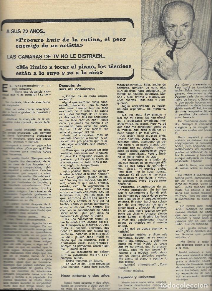 Coleccionismo de Revista Teleprograma: REVISTA TELE RADIO Nº 623,DICIEMBRE 1969, MANNIX, MASSIEL, MIGUEL DE LA CUADRA SALCEDO, JOSE ITURBI - Foto 5 - 233376015