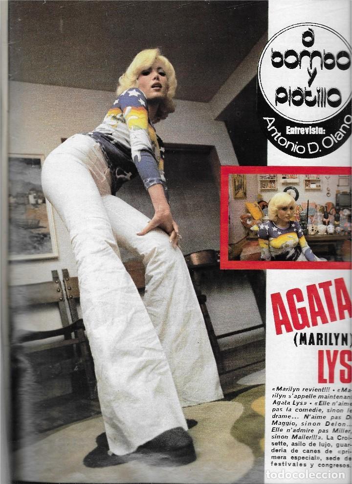 "Coleccionismo de Revista Teleprograma: REVISTA TELE RADIO Nº 914, TELLY SAVALAS "" KOJAK"", AGATA LYS, LABELLE - Foto 2 - 207700176"